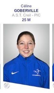 Céline Goberville qualifiée pour les JO de Tokyo 2021